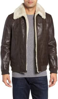 Robert Graham Corson Genuine Shearling Jacket