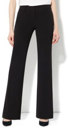 New York & Co. Broadway Curvy City Double Stretch Bootcut Pant - Average