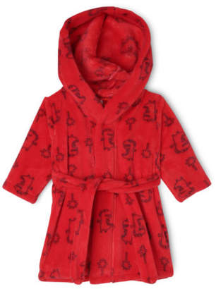 Sprout NEW Boys Dressing Gown Red