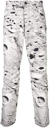 G Star Research 'moon' print trousers