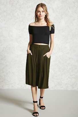FOREVER 21+ Contemporary Button Front Skirt $15.90 thestylecure.com