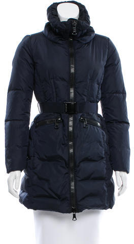 Moncler Moncler Knee-Length Cobaye Coat