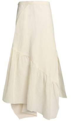 3.1 Phillip Lim Asymmetric Cotton-Blend Jacquard Maxi Skirt