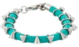 Rebecca Minkoff Runway Triangle Charm Friendship Bracelet