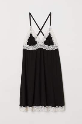 H&M Modal Nightgown - Black