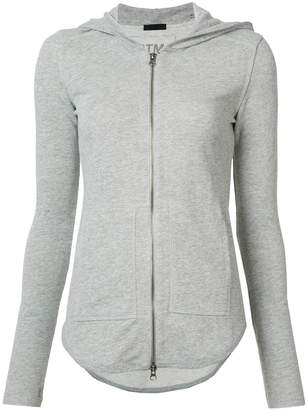 ATM Anthony Thomas Melillo hooded zip up cardigan