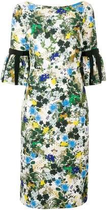 Erdem floral midi dress