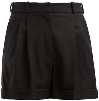 0c548e204422 Racil City High Rise Wool Shorts - Womens - Black