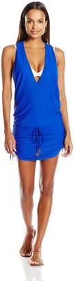 Luli Fama Women's Cosita Buena T-back Mini Dress Cover Up