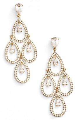 Women's Nadri Crystal Chandelier Earrings $125 thestylecure.com