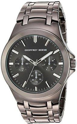 Geoffrey Beene Men 's Quartz Metal and Alloy Dress Watch , Color : Black ( Model : gb8090gu )
