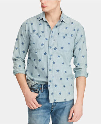 Polo Ralph Lauren Men Classic-Fit Star Americana Workshirt