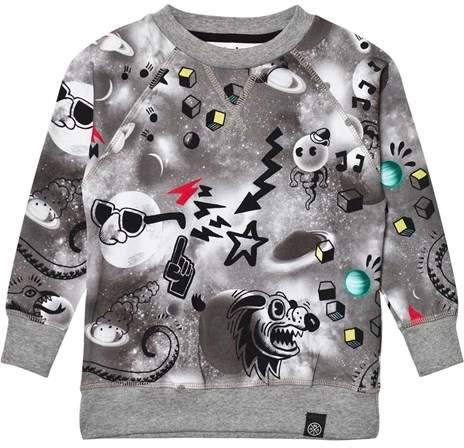 Romeo Comic Space Sweater