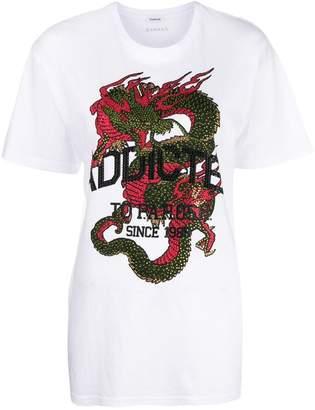 P.A.R.O.S.H. dragon print T-shirt