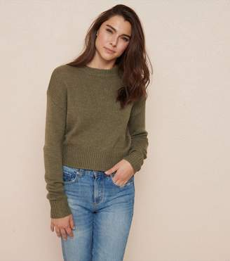Garage Fuzzy Crew Neck Sweater - FINAL SALE