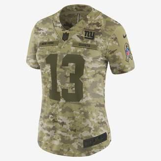 Nike NFL New York Giants Limited Jersey (Odell Beckham Jr.) Women's Football Jersey