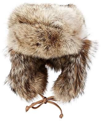 Crown Cap Men's Fur Trapper Hat