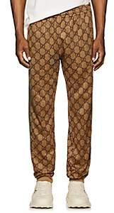 Gucci Men's GG Supreme Tech-Jersey Jogger Pants - Camel