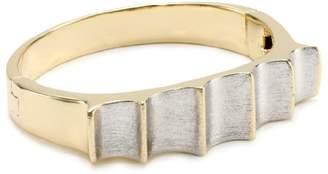 Fallon Margaux Two-Tone Hinge Cuff Bracelet