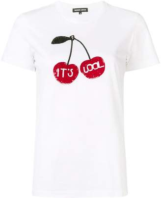 Markus Lupfer Cherry embroidered T-shirt