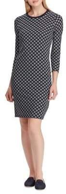 Lauren Ralph Lauren Slim-Fit Printed Jersey Dress