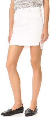 Joe's Jeans High Low Hem Skirt $168 thestylecure.com