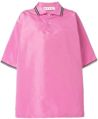 Marni oversized polo shirt
