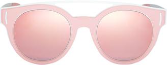 Givenchy Rubber Logo Sunglasses $395 thestylecure.com