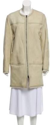 Isabel Marant Short Shearling Coat