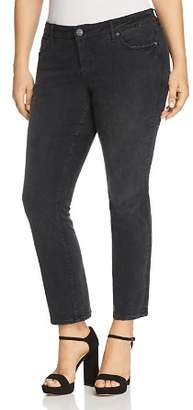 SLINK Jeans Plus Straight Jeans in Sasha