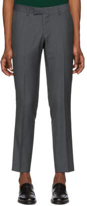 Tiger of Sweden Blue Check Tordon Trousers
