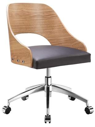 Beck Home Office Chair Curved Seat