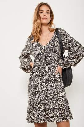 Mint Velvet Womens Philippa Leopard Print Dress - Animal