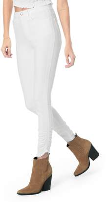 Joe's Jeans Flawless - Charlie High Waist Gathered Hem Skinny Jeans