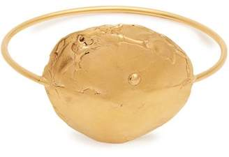 Alighieri - The Dance Of The Storm Gold Plated Bangle - Womens - Gold