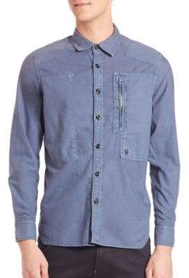 G Star Powel Multi-Stich Button-Down Shirt