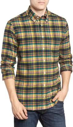 Hunter Gitman Regular Fit Plaid Flannel Shirt