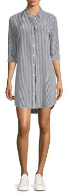 Equipment Brett Stripe Shirt Dress