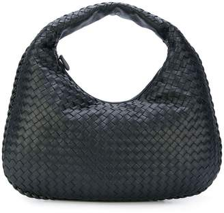Bottega Veneta nero Intrecciato nappa medium veneta bag