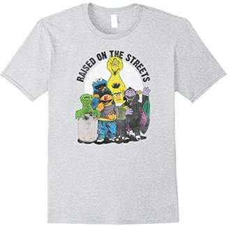 """Sesame Street Characters """"Raised On The Streets"""" T-Shirt"""