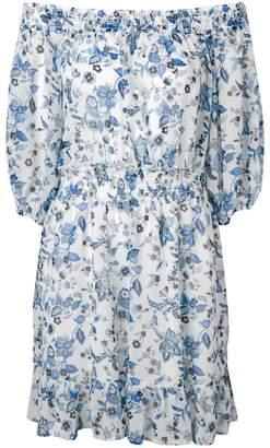 Liu Jo floral print off the shoulder dress