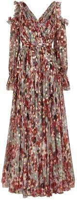 Alexander McQueen Floral Wrap Gown