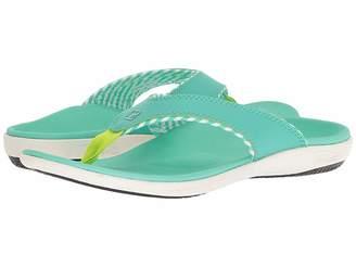 Spenco Yumi Candy Stripe Sandal