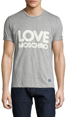 Love Moschino Graphic Knit T-Shirt