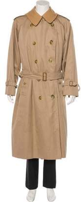 Burberry London Nova Check Trench Coat
