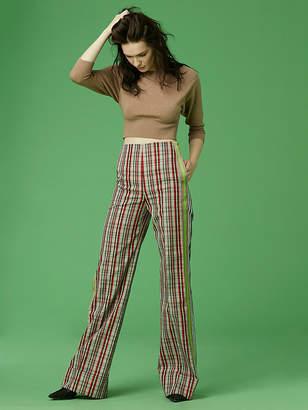 Diane von Furstenberg Wide Leg Belted Pant