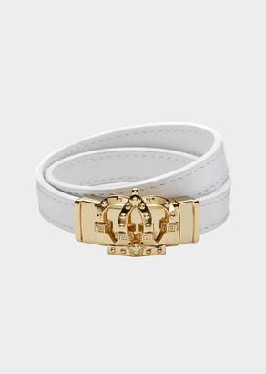 Versace Rock n' Royalty Leather Bracelet