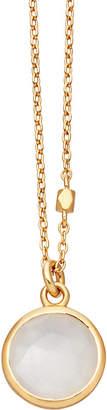 Astley Clarke Stilla 18ct gold-plated moonstone pendant necklace