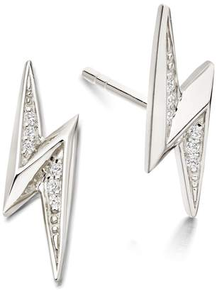 Astley Clarke Mini Lightning Bolt Biography Stud Earrings