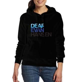 Dannifer Ladies Dear-Evan-Hansen Casual Style Sweater M Long Sleeve with Pocket
